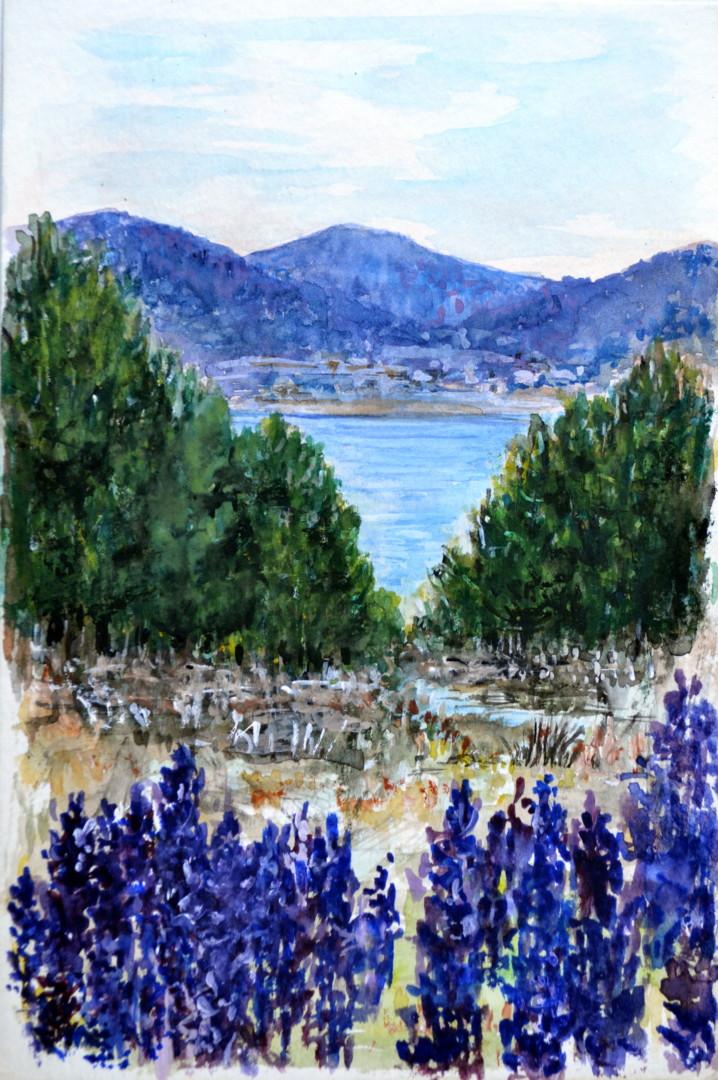 Marie-Josée Reyes - Le lac de MATEMALE
