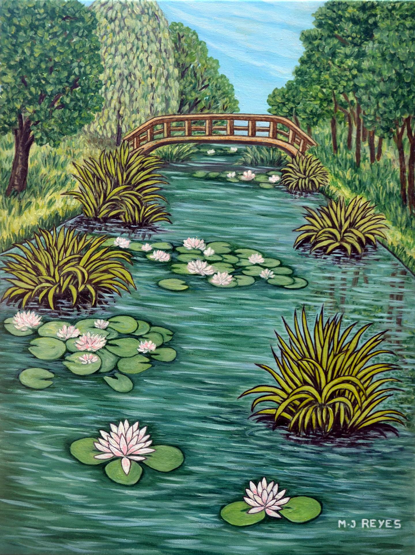 Marie-Josée Reyes - Le ruisseau aux nénuphars