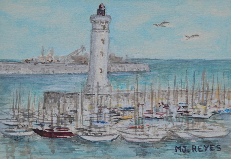 Marie-Josée Reyes - Le port de Sète