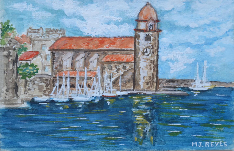 Marie-Josée Reyes - Collioure, le clocher