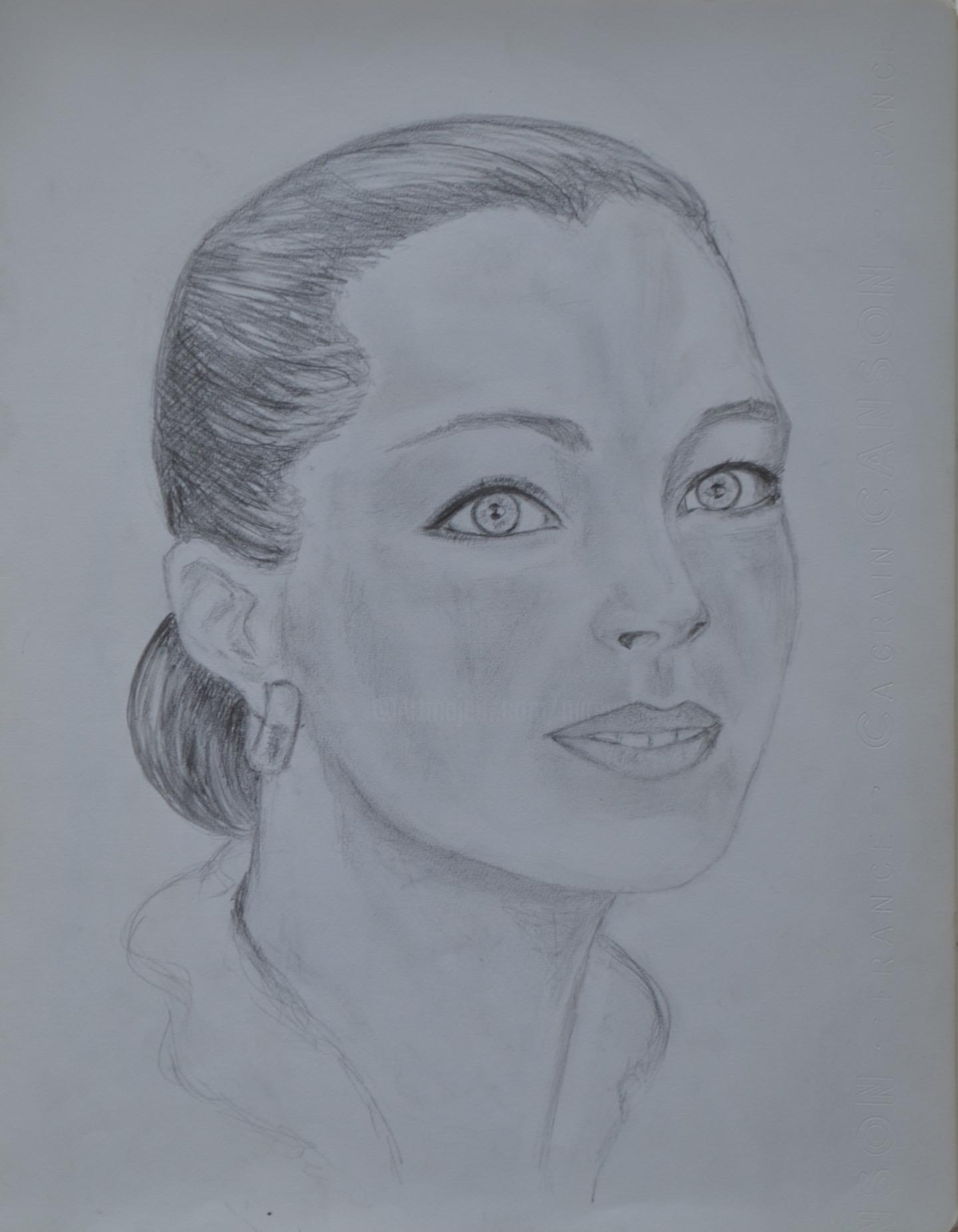 Marie-Josée Reyes - Portrait de Romy Schneider