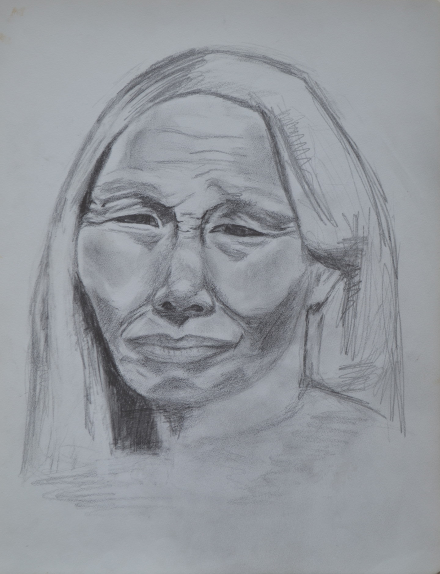 Marie-Josée Reyes - La vieille Indienne