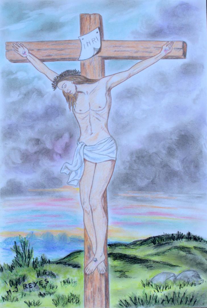 Marie-Josée Reyes - Jésus Christ sur la croix