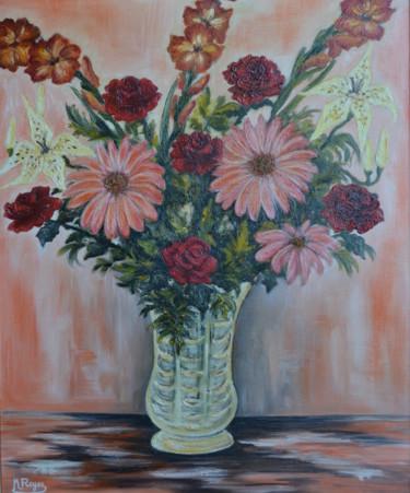 Bouquet de glaïeuls et gerberas