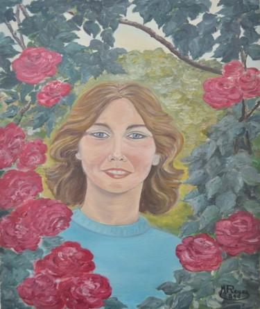 Marylin dans le jardin de mamie