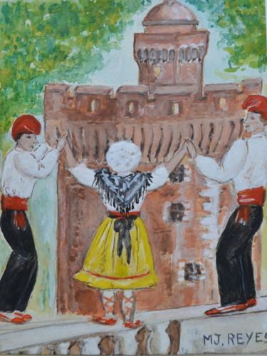 La Sardane devant le Castillet
